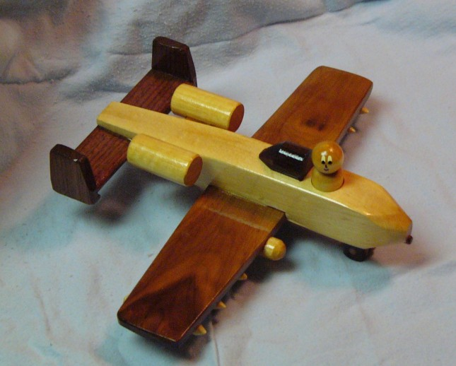 Wood Toy Making Plans : Free wooden toy jet plans diy how to make shiny oap