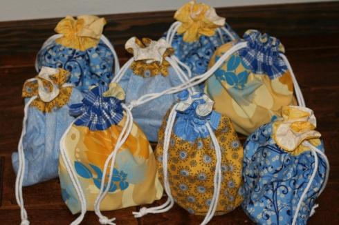 Drawstring Bag Tutorial Teacher Gift